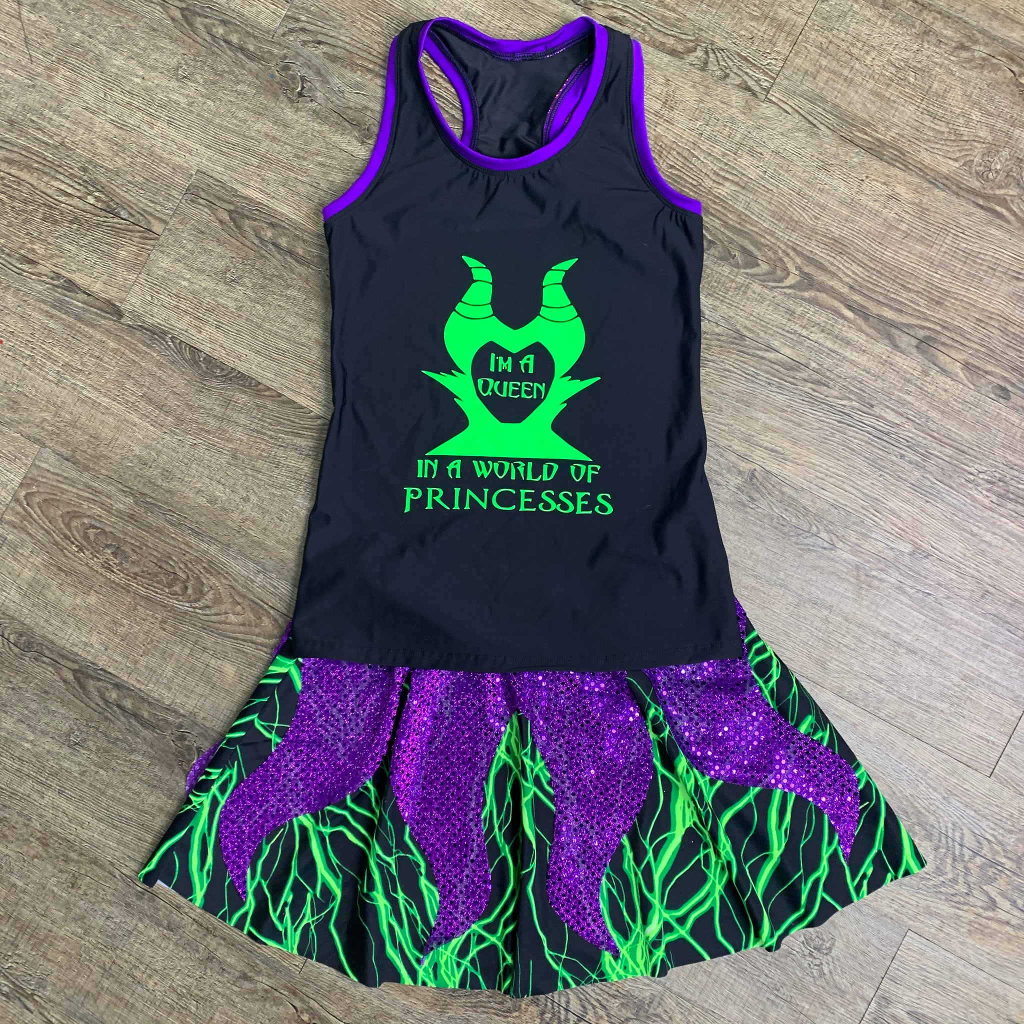 Maleficent Evil Witch Costume - Rock City Skirts