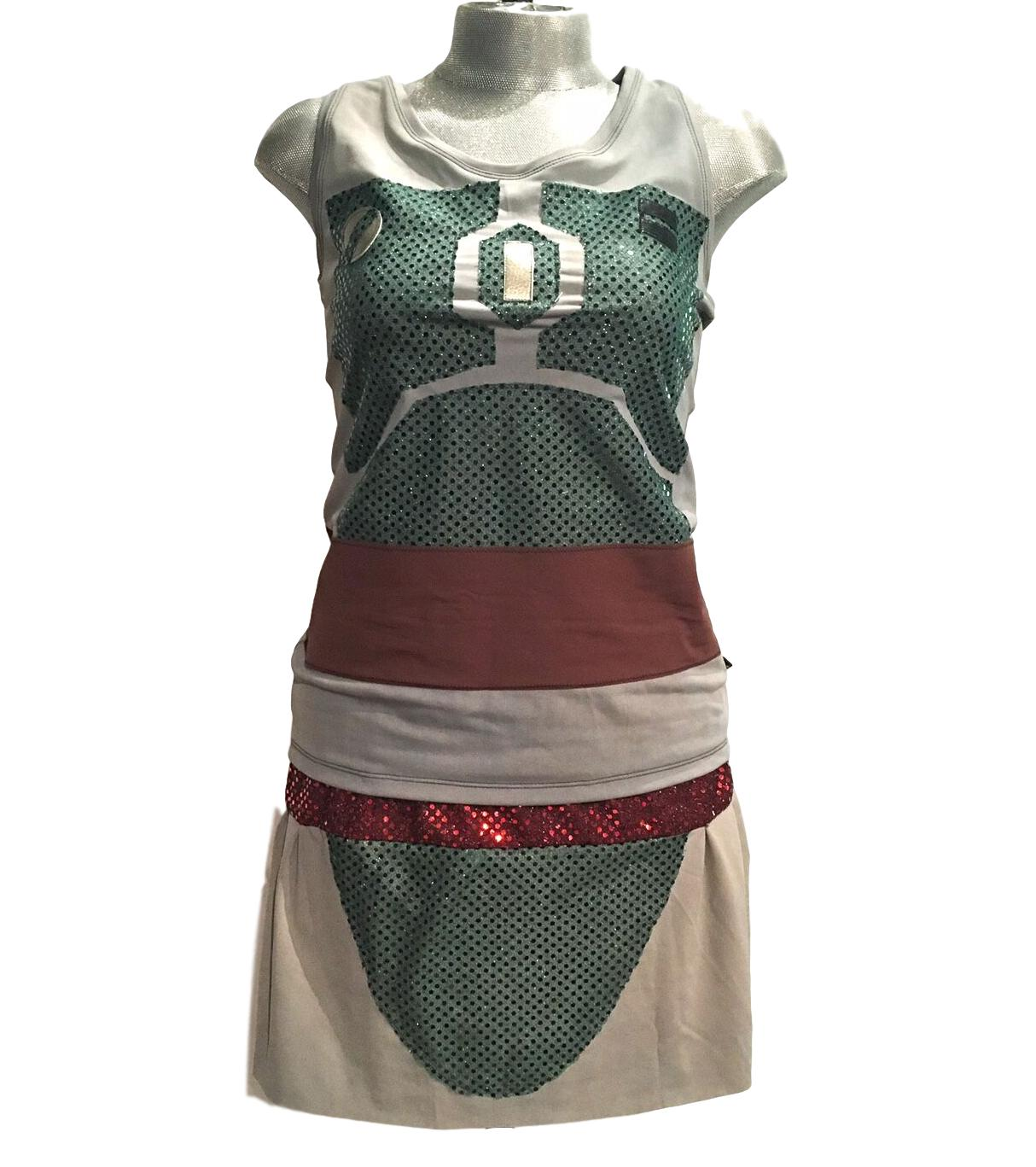 """Boba Fett"" Galatic Bounty Hunter Inspired Costume - Rock City Skirts"