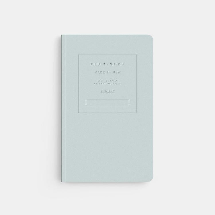 Public - Supply New York Embossed Notebook