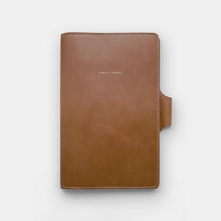 Leather Office Notebook Cover