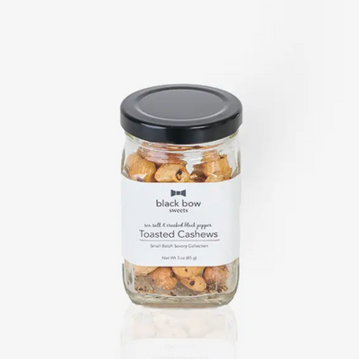 Sea Salt & Black Pepper Toasted Cashews