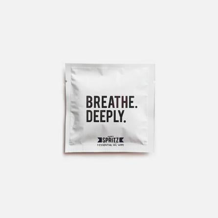 Breathe Deeply Essential Oil Towelette — Set of 2