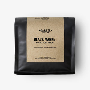 Black Market Blend Forty Eight Coffee