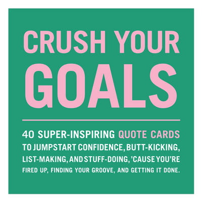Crush Your Goals Card Deck on GiftSuite.com