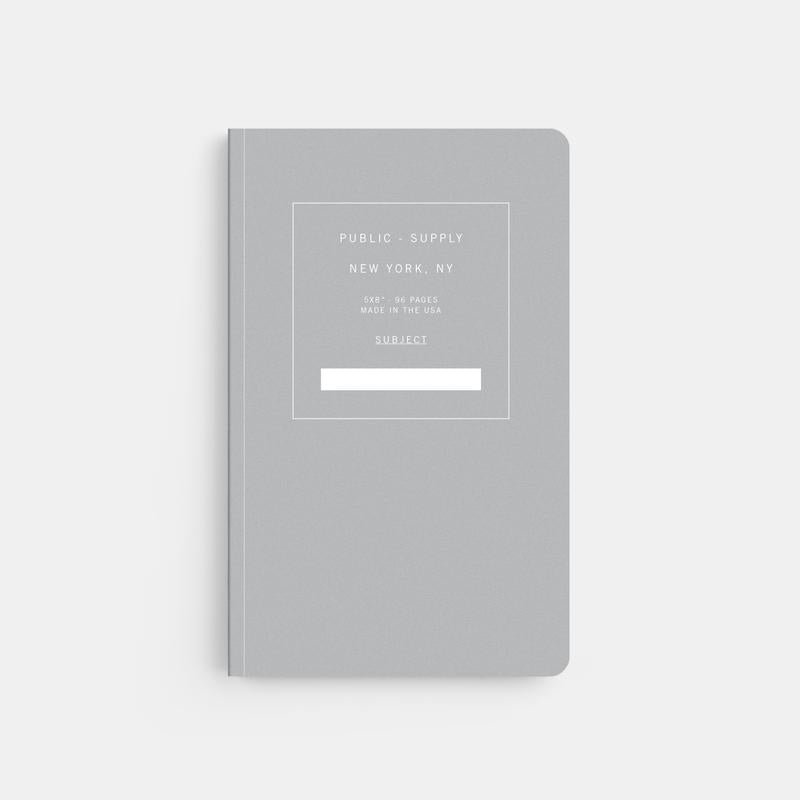 Grey Office Notebook