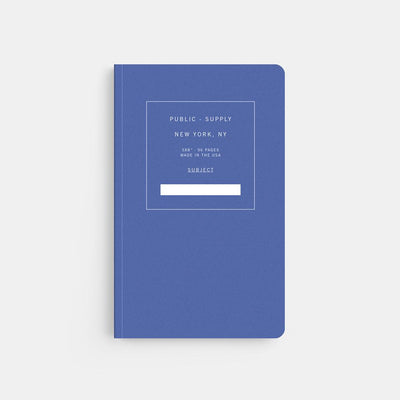 Blue Office Notebook