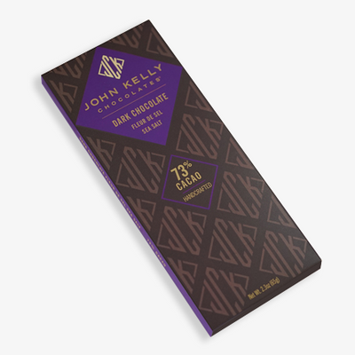 Dark Chocolate Bar with Fleur de Sel