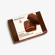 2 Piece Semi-Sweet Chocolate & Caramel w/Hawaiian Alaea Sea Salt