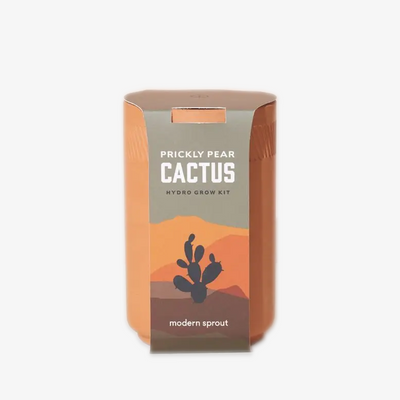 Prickly Pear Cactus Hydro Grow Kit