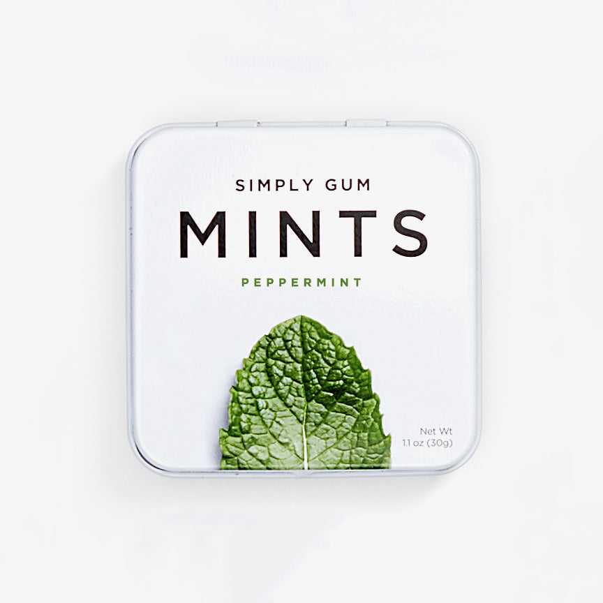 Natural Peppermint Mints