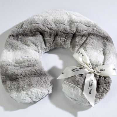 Sonoma Lavender Heated Neck Pillow - Platinum Angora