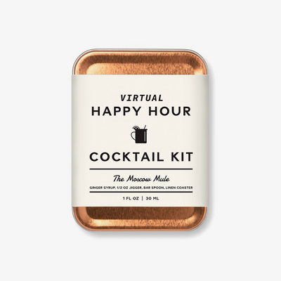 W&P Virtual Happy Hour Moscow Mule Kit on GiftSuite.com