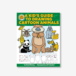 A Kids Guide To Drawing Cartoon Animals