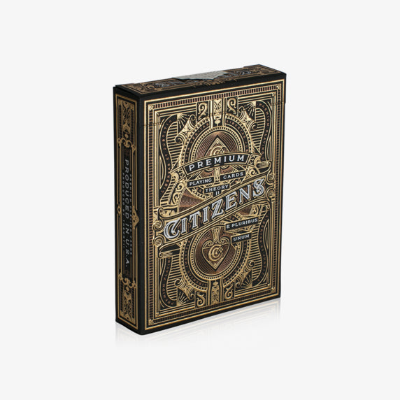 Citizens Gold Foil Playing Cards