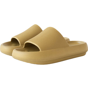 3D Extremely Comfy/Thick Sootheez Slippers (New EVA Technology 2021) - 50% OFF US Women 5.5-6 / Olive Green