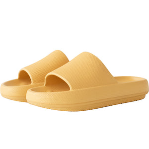 3D Extremely Soft/Thick Sootheez Slippers (New EVA Technology 2020) - 50% OFF US Women 6.5-7 / Yellow