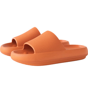 3D Extremely Soft/Thick Sootheez Slippers (New EVA Technology 2020) - 50% OFF US Women 5.5-6 / Orange