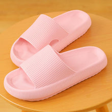 Load image into Gallery viewer, 3D Sootheez Extremely Soft/Thick Slippers (New EVA Technology 2020 with stripes) - 50% OFF W-US: 7.5-8.5 / PINK
