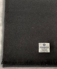 Load image into Gallery viewer, 100% pure cashmere scarf shawl wrap pashmina sustainable black UK Scotland mens womens