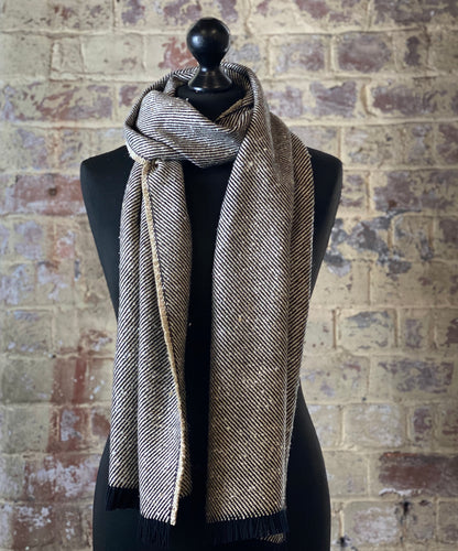100% pure cashmere scarf shawl wrap pashmina sustainable silk UK Scotland mens womens