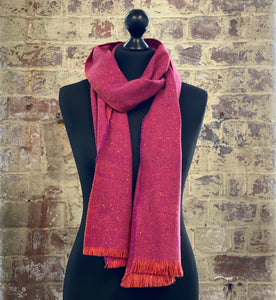100% pure cashmere scarf shawl wrap pashmina sustainable UK Scotland mens womens silk merino wool