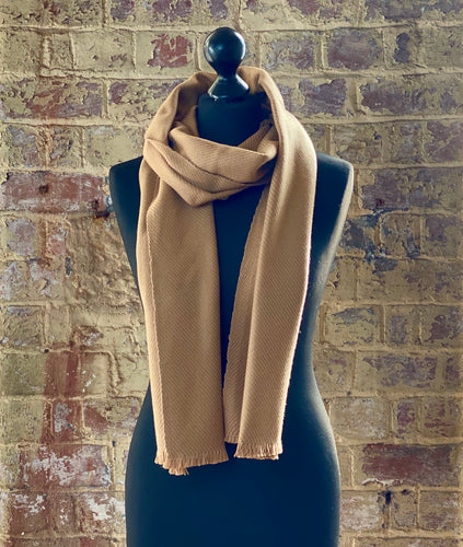 100% pure cashmere scarf shawl wrap pashmina sustainable UK Scotland mens womens