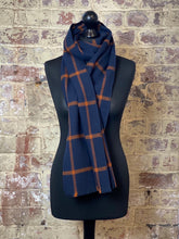 Load image into Gallery viewer, Lambswool scarf shawl wrap pashmina sustainable UK Scotland mens womens