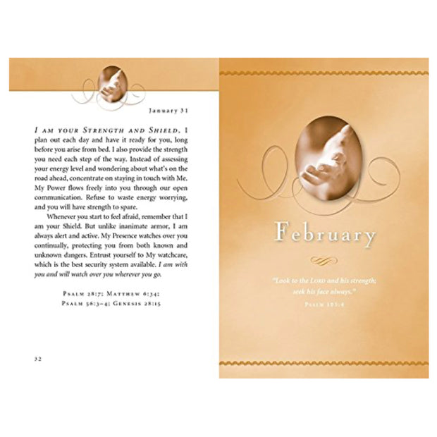 Jesus Calling Regular Print Deluxe Devotional