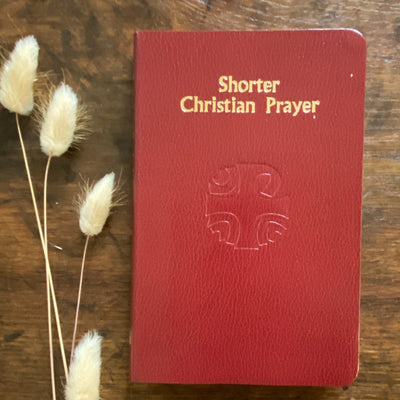 Shorter Christian Prayer, Maroon Softcover