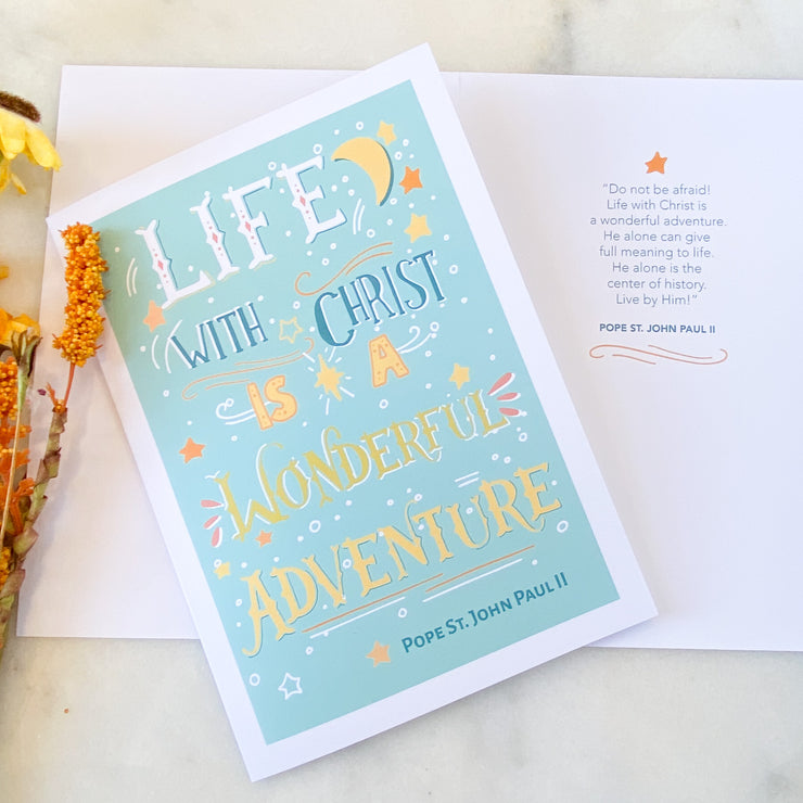 Wonderful Adventure Greeting Card