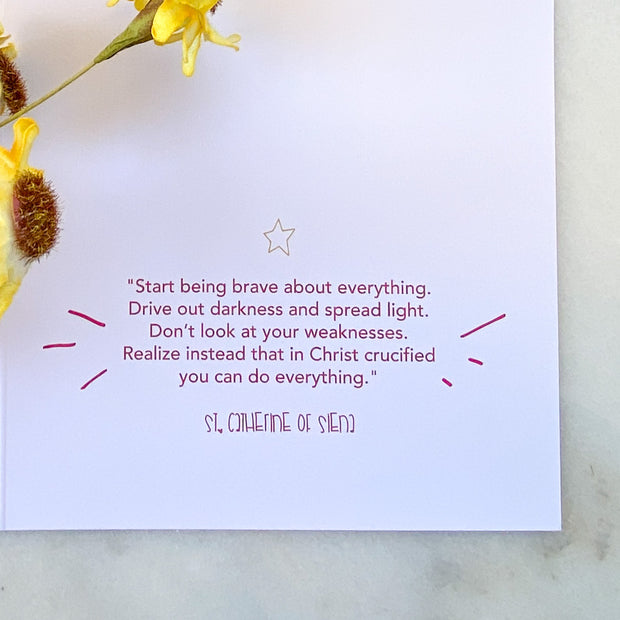 Brave Greeting Card