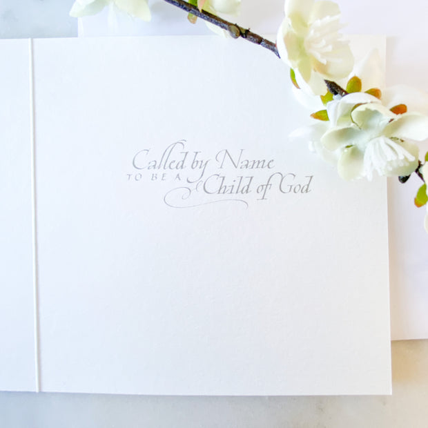 Baptism Card Square