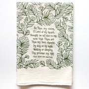 Be Thou My Vision Hymn Tea Towel