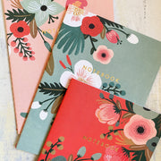 Botanicals Notebook Collection (Set of 3)