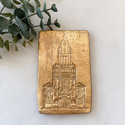 Cathedral of St. John the Evangelist Catholic Church Plaque Ornament