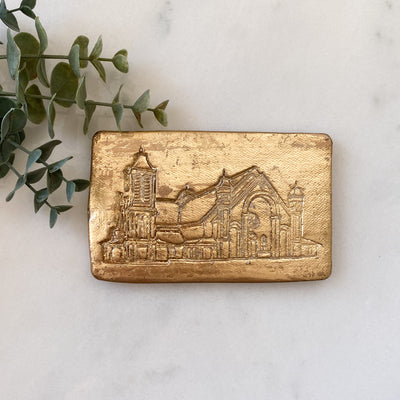 St. Pius Catholic Church Plaque Ornament