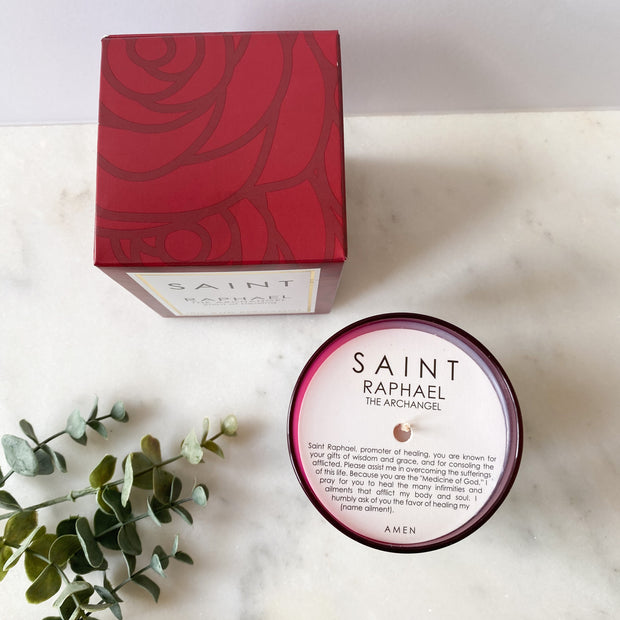 Saint Raphael the Archangel Special Edition Candle