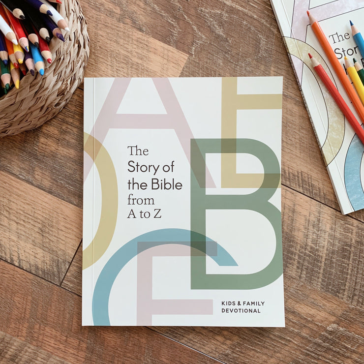 The Story of the Bible A to Z- Kids & Family Devotional