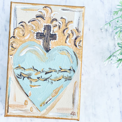 Sacred Heart of Jesus on Canvas