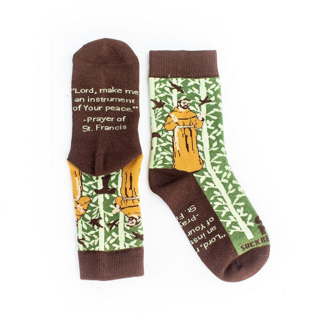 Kids St. Francis of Assisi Socks