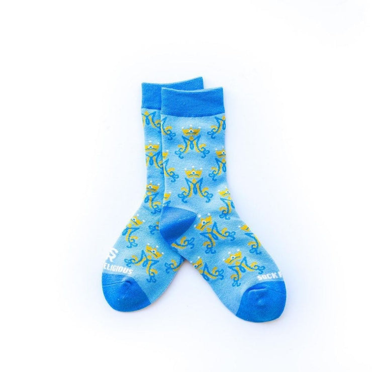 Kids Marian Monogram Socks