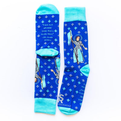 St. Joan of Arc Socks