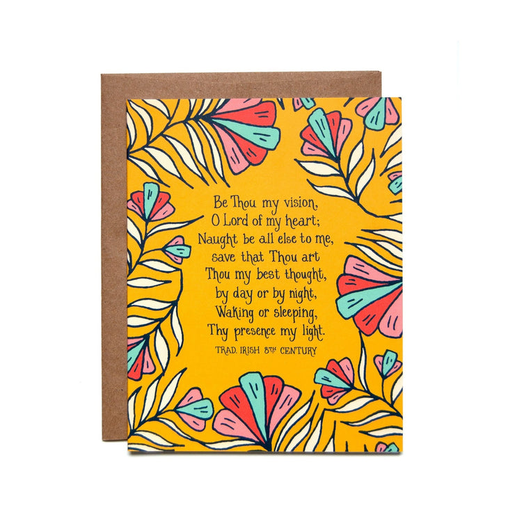 Be Thou My Vision Greeting Card