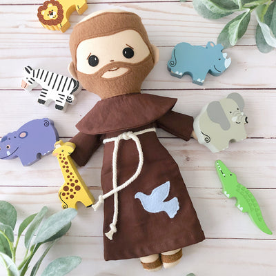 St. Francis of Assisi Doll