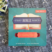First Bible Basics: A Counting Primer Baby Believer Book