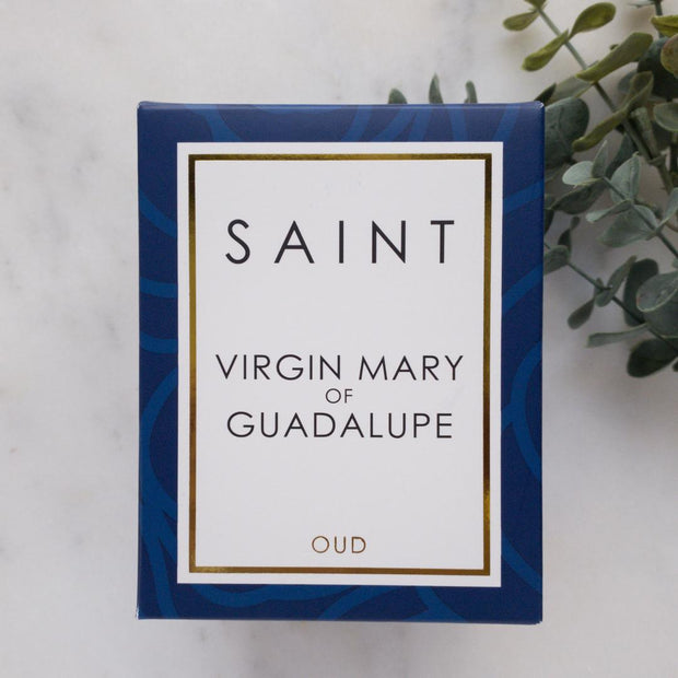 Virgin Mary of Guadalupe Oud Scented Candle