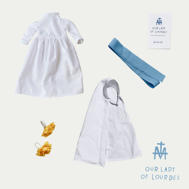 Our Lady of Lourdes Doll Outfit Kit
