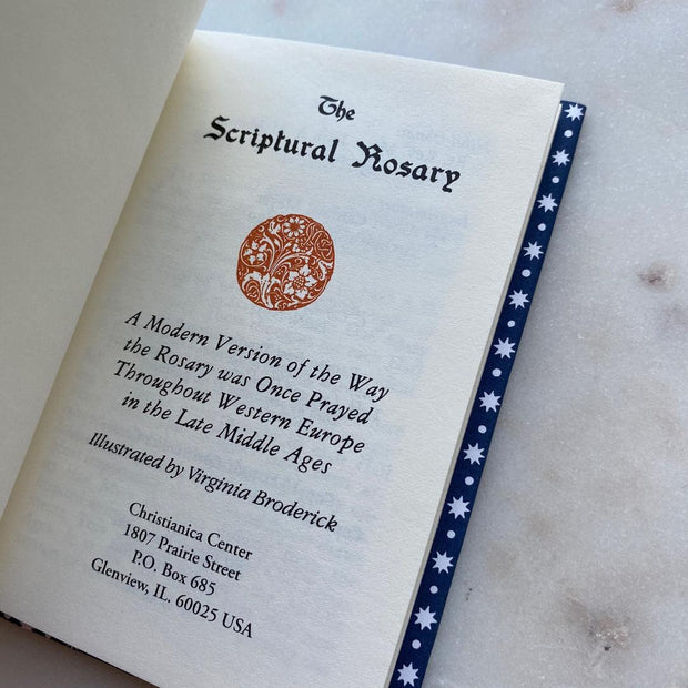 Scriptural Rosary Hardcover Book