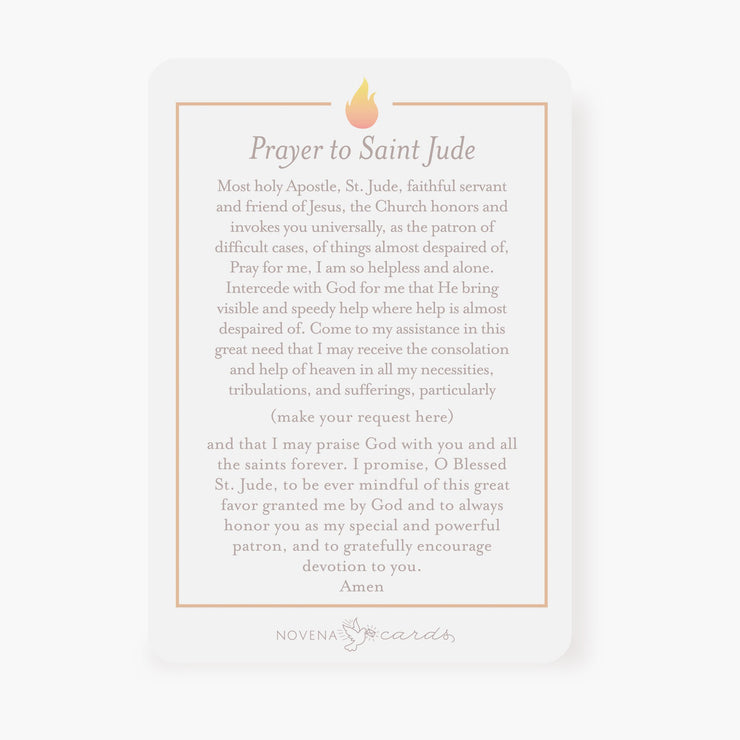 St. Jude Prayer Card | Pray For Us