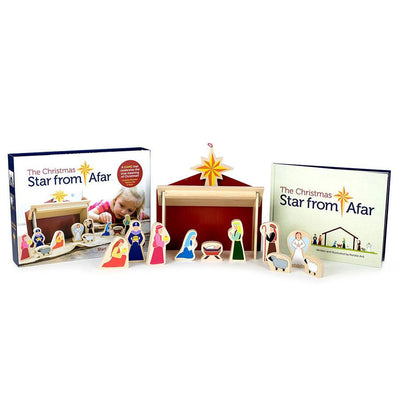 Star From Afar Story & Wooden Nativity